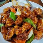 金春 - 黒酢酢豚