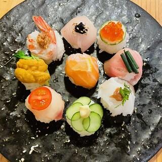 本格派の寿司をお手頃価格でご提供!