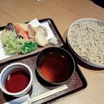 味ごよみ - 田舎もり 野菜天ぷら盛