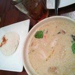 タイズ - 鶏肉のグリーンカレー