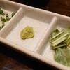 銘鶏やき鳥 鳥仙 - 料理写真:鶏まぶし飯の薬味