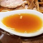 中華そば べんてん - スープ!