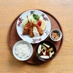 d47食堂 - 長崎アジフライ定食
