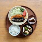d47食堂 - 愛知味噌カツ定食