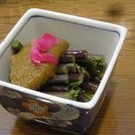 能登キリコ茶屋 おっちゃん - 酢の物(わらびの酢味噌掛け)