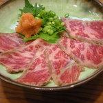 能登キリコ茶屋 おっちゃん - 強肴(牛たたき)