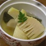 能登キリコ茶屋 おっちゃん - 煮物(竹の子昆布煮物)