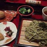 茶カフェ 上辻園 - 茶そばセット