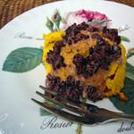 cafe Sari - カボチャのムース