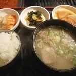 149501680 - テールスープ定食