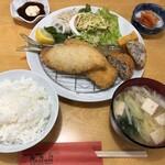 福笑門 - 料理写真:ミックスフライ定食