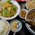 味鮮 - 料理写真:日替わりランチ800。レタスと玉子炒め。