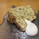 タモーチェ - 黒ゴマのシフォンケーキ
