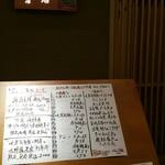 魚料理 渋谷 吉成本店 - 限定8食に惹かれました。本当かな〜。次回は2品選べるやつを頼んでみたいです