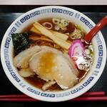 らーめん 丸美 春鶴 - ワンコインラーメン・醤油(500円)