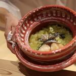 京味 もと井 - 食事 鰆の炭火焼きとふき☆