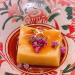 日々魚数寄 東木 - 打木赤皮甘栗かぼちゃ ごま豆腐