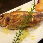 オイノス - 本日のお魚(イサキ)の石窯グリル