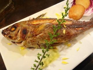 オイノス 石川町 - 本日のお魚(イサキ)の石窯グリル