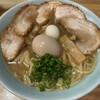 ラーメン 多弐家 - 料理写真:多弍家・醤油・太麺。1100円。