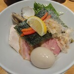 149537873 - 特製鶏・蛤のつけ麵