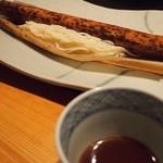 島宿 真里 - 「島」生素麺 諸味つゆ