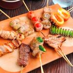 お刺身と焼き鳥と鍋 食べ飲み放題 個室居酒屋 鳥桜 -