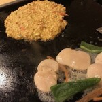 お好み焼ポン吉 - 帆立バター焼き