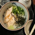 鶏そば - とりめし(だし)