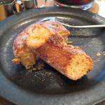 ル・パレ・グルマン・スギモト - こちらのd-ナツは揚げないタイプの焼きドーナツです。ふんわりではなく、しっかり系でした。