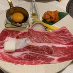 本町焼肉DATENARI - 牛切り落とし肉・2021/3