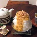 きぃ房茶 - コーン茶のかき氷&コーン茶セット