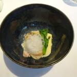 149587596 - 地蛤と大山鶏のコンソメロワイヤル