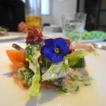 149588023 - お魚のマリネ グリーンペッパー風味 サラダ仕立て