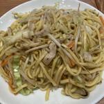 餃子菜館 勝ちゃん - 名物塩焼きそば。