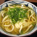 丸亀製麺 - かけうどん(大)