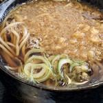 松月庵 - 蕎麦はたぬきそば