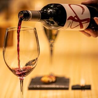 厳選ワインと炭火焼鳥のペアリングを堪能