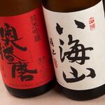 馬春楼 - 馬刺しに合う日本酒ございます