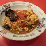 幸楽 - トマトと玉子の炒め物