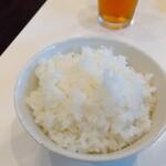 みさきや - ライス(平日ランチタイムは50円)