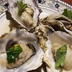 恋鯉 - 蒸し牡蠣