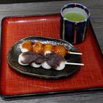 歌舞伎茶屋 - お団子セット