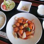 14960502 - 酢豚定食