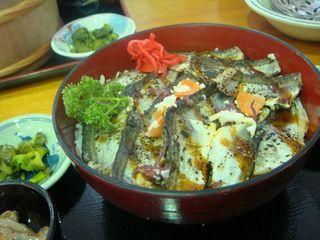 海陽 - トギナシはたはた焼き飯寿し丼
