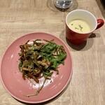 リトル デリリウムカフェ - 前菜&スープ