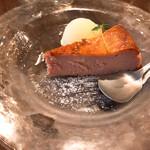 洋食や なかむら - 桜のベイクドチーズケーキ