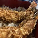 Kandamatsuya - 才巻でなく車海老だから尾まで食べられなかった