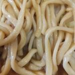 ラーメン二郎 - 麺。