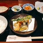京丹後地産食堂 味工房 海鮮ひさみ - 本日の地魚定食
